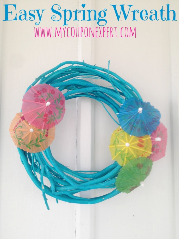Frugal Crafting Fun: Easy Spring Wreath