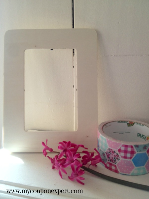 Frugal Fun: DIY Mother's Day Washi Tape Frame