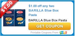 free printable barilla coupons