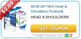 image regarding Head and Shoulders Coupons Printable called Clean Printable Coupon: $2.00 off 2 Mind Shoulders Products and solutions ·