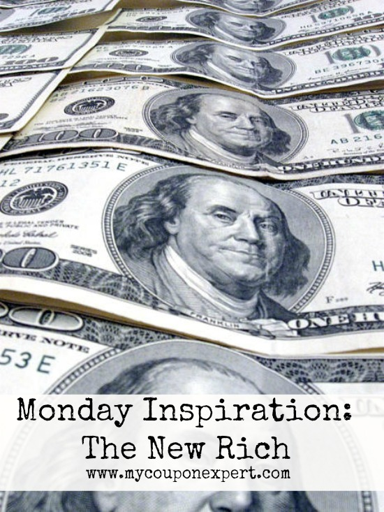 Monday Inspiration: The New Rich