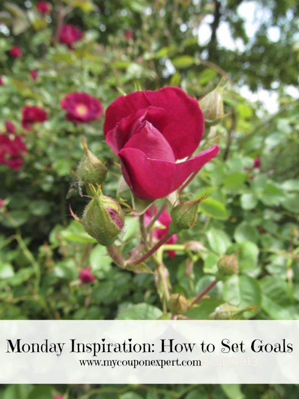 Monday Inspiration: How to Set Goals
