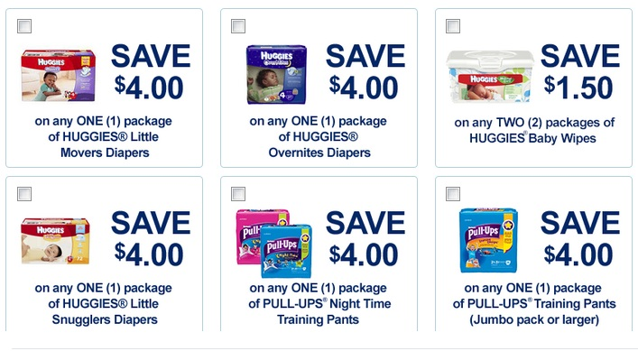 huggies coupons print