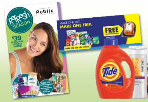 Sign up for a FREE Publix P&G Coupon Booklet!  Yippey!
