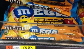 M&M BIG BAGS just $.49 each at Walmart starting Thursday with price match!!