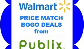 Walmart / Publix BOGO Price Match Deals August 28th – Sept 3rd!!
