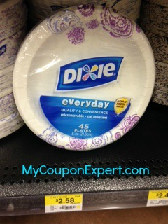 Dixie Plates or Bowls Only $0.79 at Walmart Until 9/3