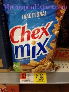 Chex Mix Only $0.74 at Walmart Until 9/3