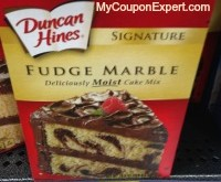 Duncan Hines Cake Mix Only $0.63 at Walmart Until 8/27