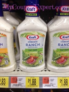 Kraft Dressing Only $0.24 at Walmart Until 9/17