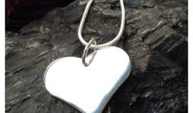 Silver Heart Necklace Only $2.99 – 88% Savings