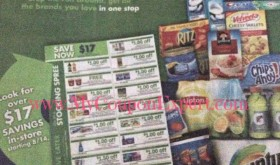 New Stocking Spree Sheet Publix Coupon Booklet in Stores 8/14