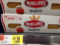 OVERAGE on Mueller's Pasta at Walmart Until 9/16