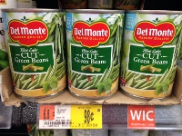 Del Monte Canned Vegetables Only $0.49 at Walmart Until 8/20