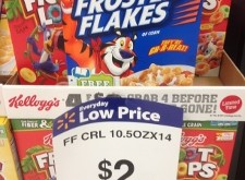 FREE Kellogg's Cereal at Walmart Until 9/17