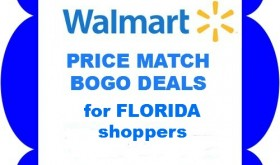 HOT Walmart Ad Match deals for Publix / Winn Dixie BOGO's!!