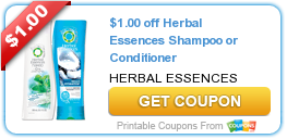 image regarding Herbal Essences Coupons Printable referred to as Fresh Printable Coupon: $1.00 off Natural Essences Shampoo or