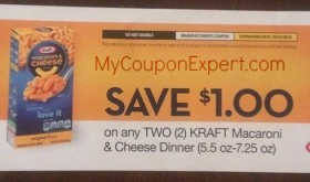 Possible FREEBIE on Kraft Mac N Cheese!!! Check it out!