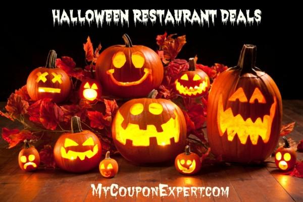 Halloween Restaurant Deals