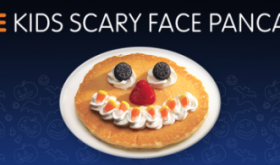 FREE Kids Scary Face Pankcake at IHOP October 31st