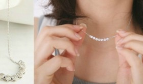 Delicate Sparkle Necklace Only $5.99 – 85% Savings