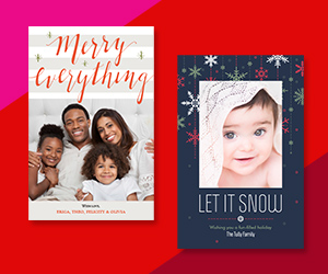 60% Off Christmas Cards and Holiday Cards