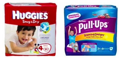 huggies diapers and pull ups