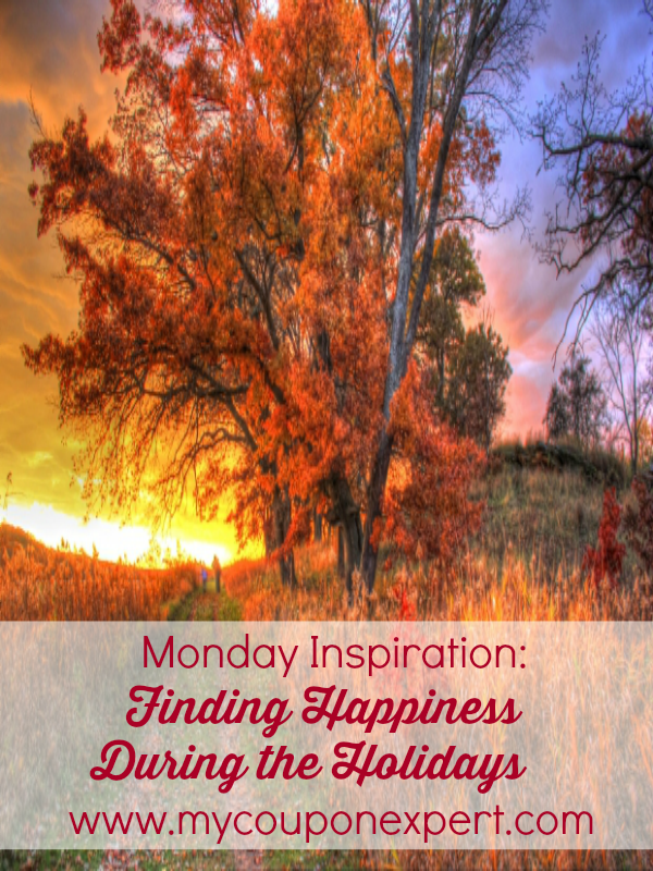 Monday Inspiration: Finding Happiness During the Holidays