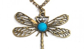 Retro Style Dragonfly Pendant Only $4.50 Shipped – 78% Savings!!