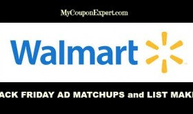 WALMART Black Friday Ad Matchups & List Maker!