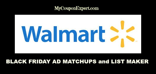 walmart Black Friday Ad and List maker