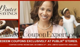 Winter Family Savings Publix Coupon Booklet + Printable