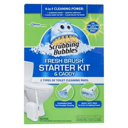 Scrubbing Bubbles Fresh Brush Starter Kit & Caddy Only $3.99 at Walgreens