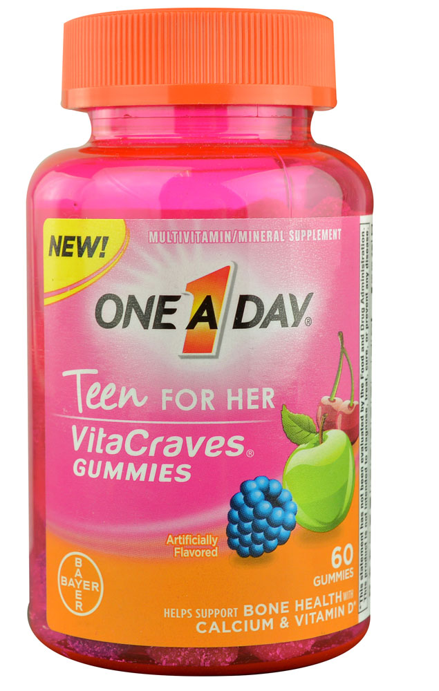 One A Day Teen for Her VitaCraves Gummies Only $2.66 at ...