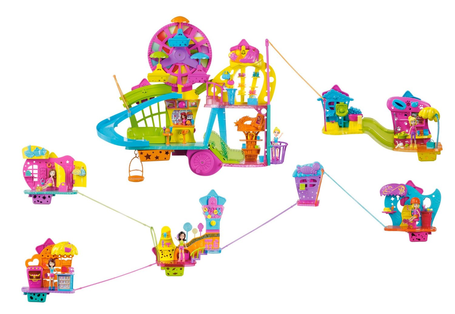 Polly Pocket Ultimate Wall Party Buildup Playset Only $27.27 – Reg $94.99