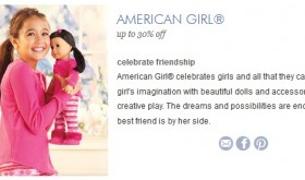 American Girl Doll 30% off Sale!  HURRY LIVE NOW!!!!!!