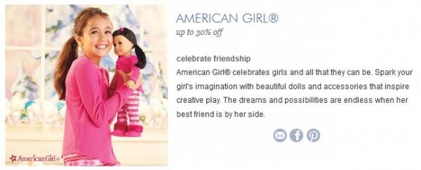 american girl zulily 2