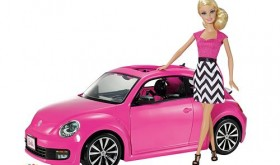 Barbie Pink-Tastic VW Beetle & Doll Only $19.99 – Reg $59.99