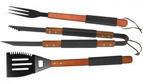 Brinkmann 3-Piece Non-Stick Grilling Tool Set Only $5.88  – 69% Savings
