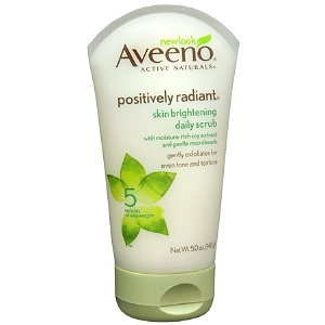 Aveeno Positively Radiant Scrub & Moisturizer Only $3.16 at Target - My Coupon Expert
