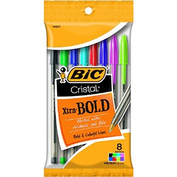 BIC Cristal Xtra Pens Only $0.49 at Walgreens