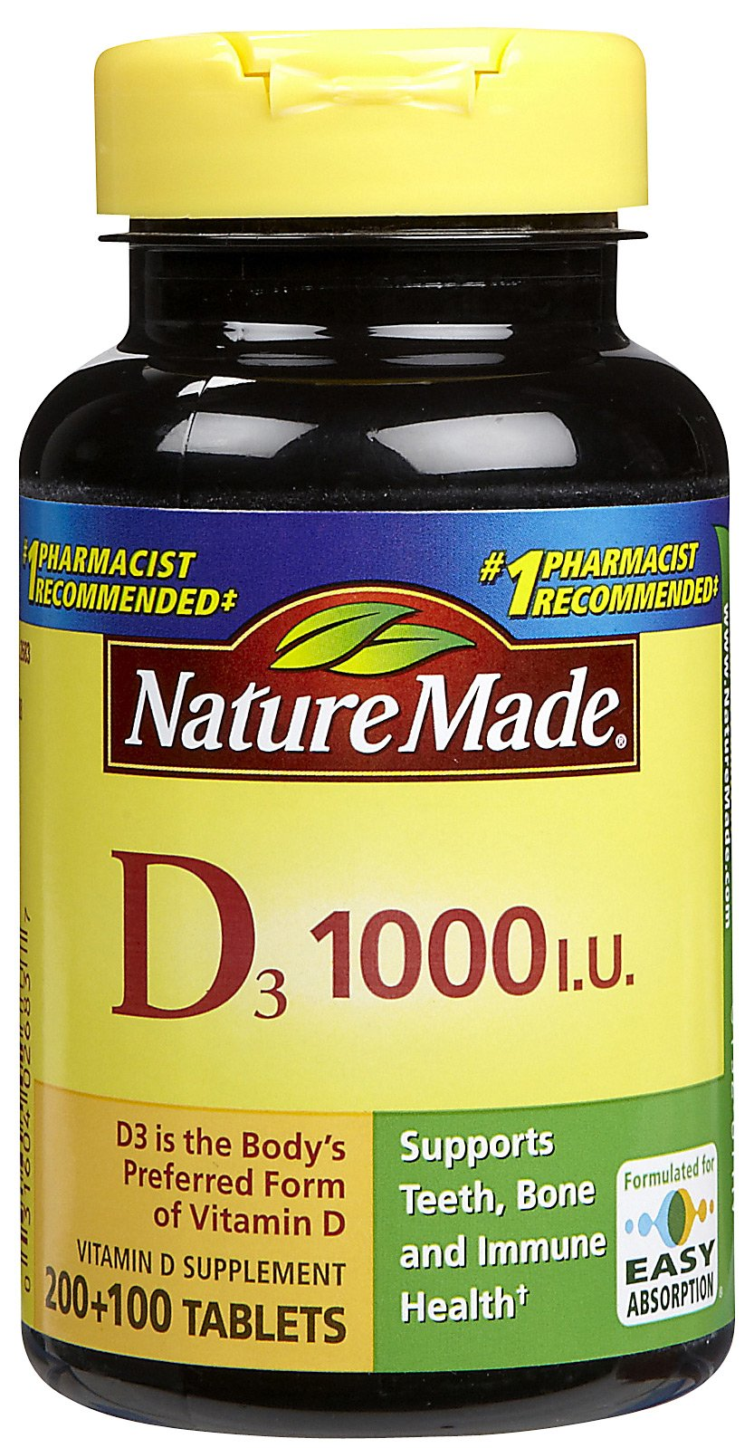 Nature Made Vitamin D Only $1.49 at Walgreens