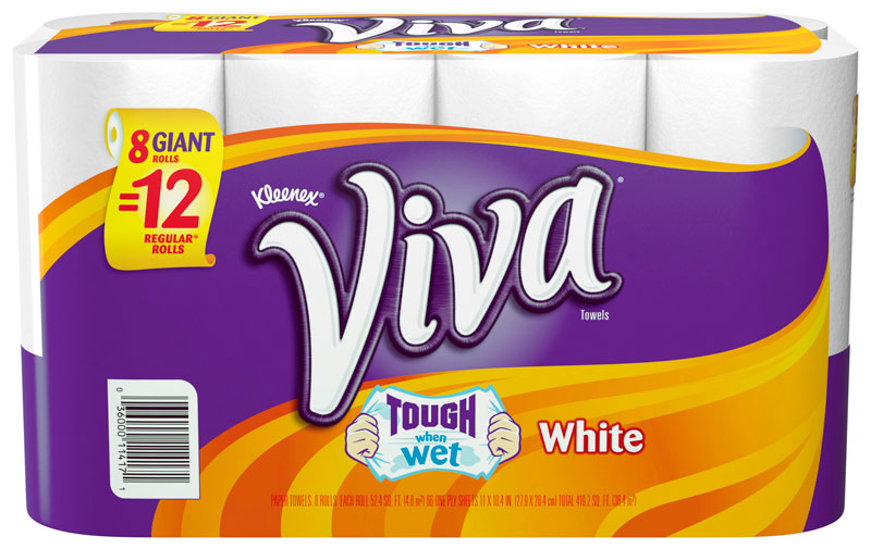 Viva Paper Towels Giant Rolls Only $0.44 Per Regular Roll at Target