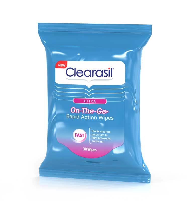 Clearasil Ultra On the Go Wipes Only $2.71 at Walgreens