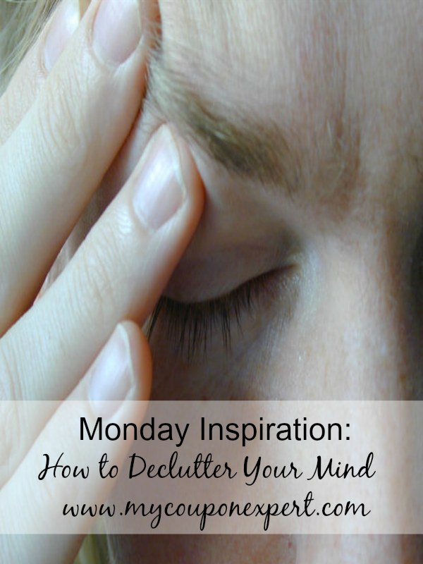 Monday Inspiration: How to Declutter Your Mind