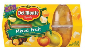 Del Monte Mixed Fruit Only $1.50 at Target