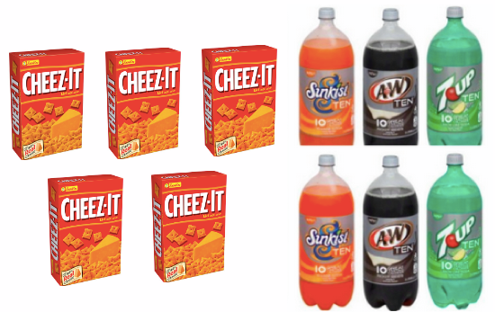 Cheez-Its & 2 Liters Only $0.78 at Target (Starting 1/25)