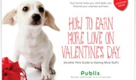 New Publix Coupon Booklet + Printables: How To Earn More Love On Valentine's Day Pet Booklet