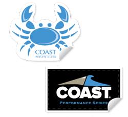FREE Coastal Apparel Stickers