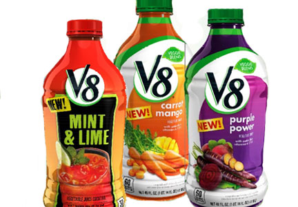 New V8 Healthy Juices As Low As $0.68 at Target